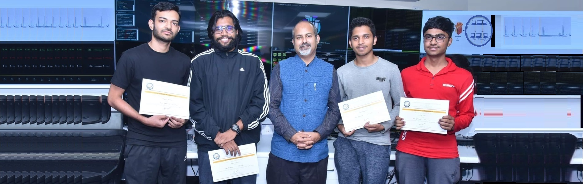 Team ByteBandits of CSE, IIT Indore secured 1st place in India and 9th globally in CSAW CTF (Finals) 2019 held at IIT Kanpur.