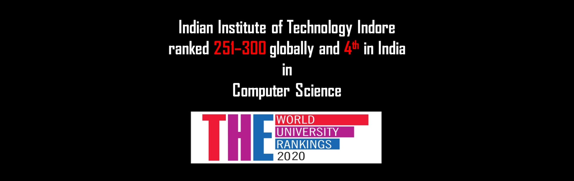 2020 THE World University Rankings